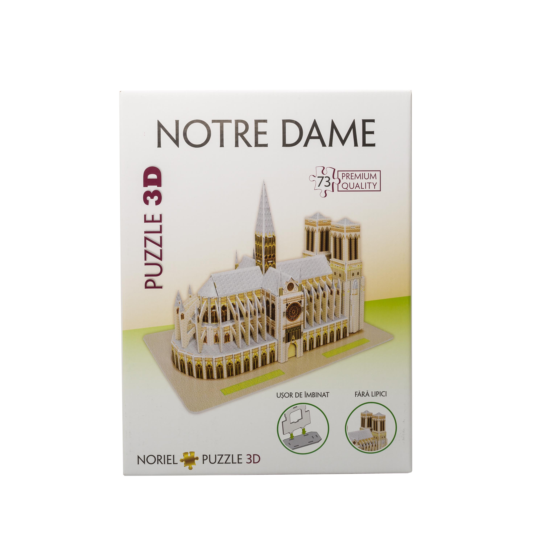 puzzle 3d noriel - notre dame (73 piese)
