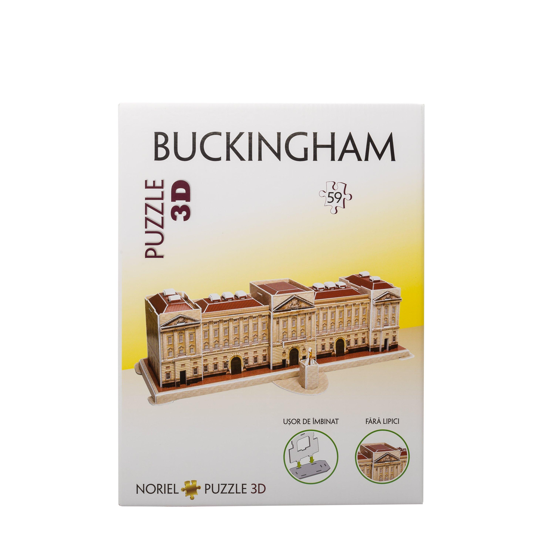 puzzle 3d noriel - palatul buckingham (59 piese)