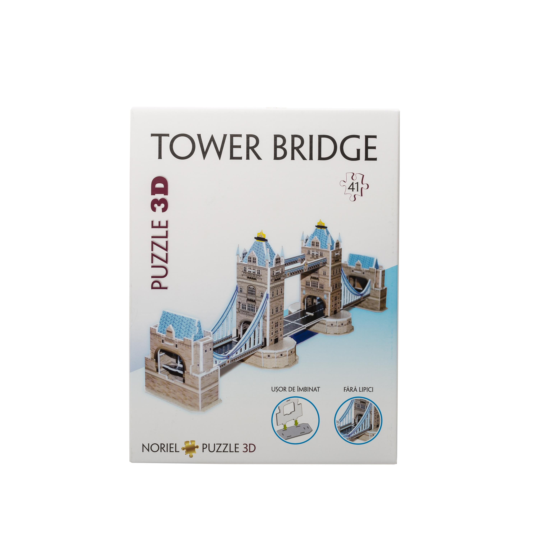 puzzle 3d noriel - tower bridge (41 piese)