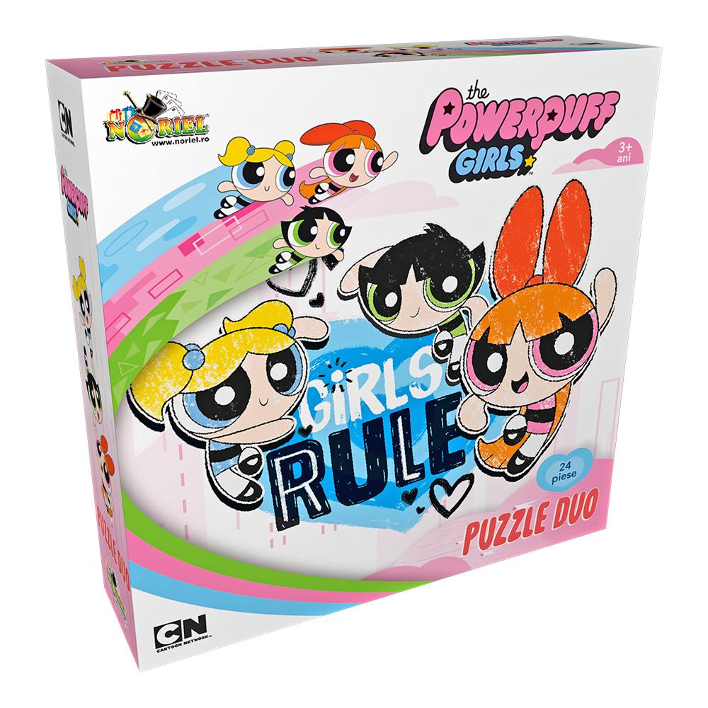 puzzle duo noriel powerpuff girls, 24 piese