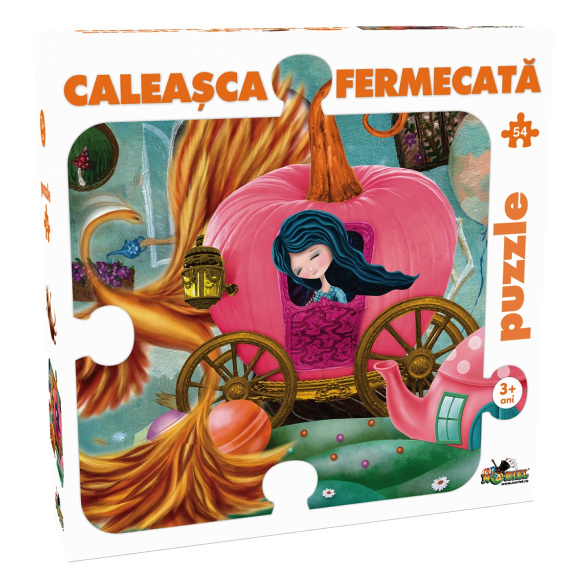 puzzle noriel - caleasca fermecata (54 piese)