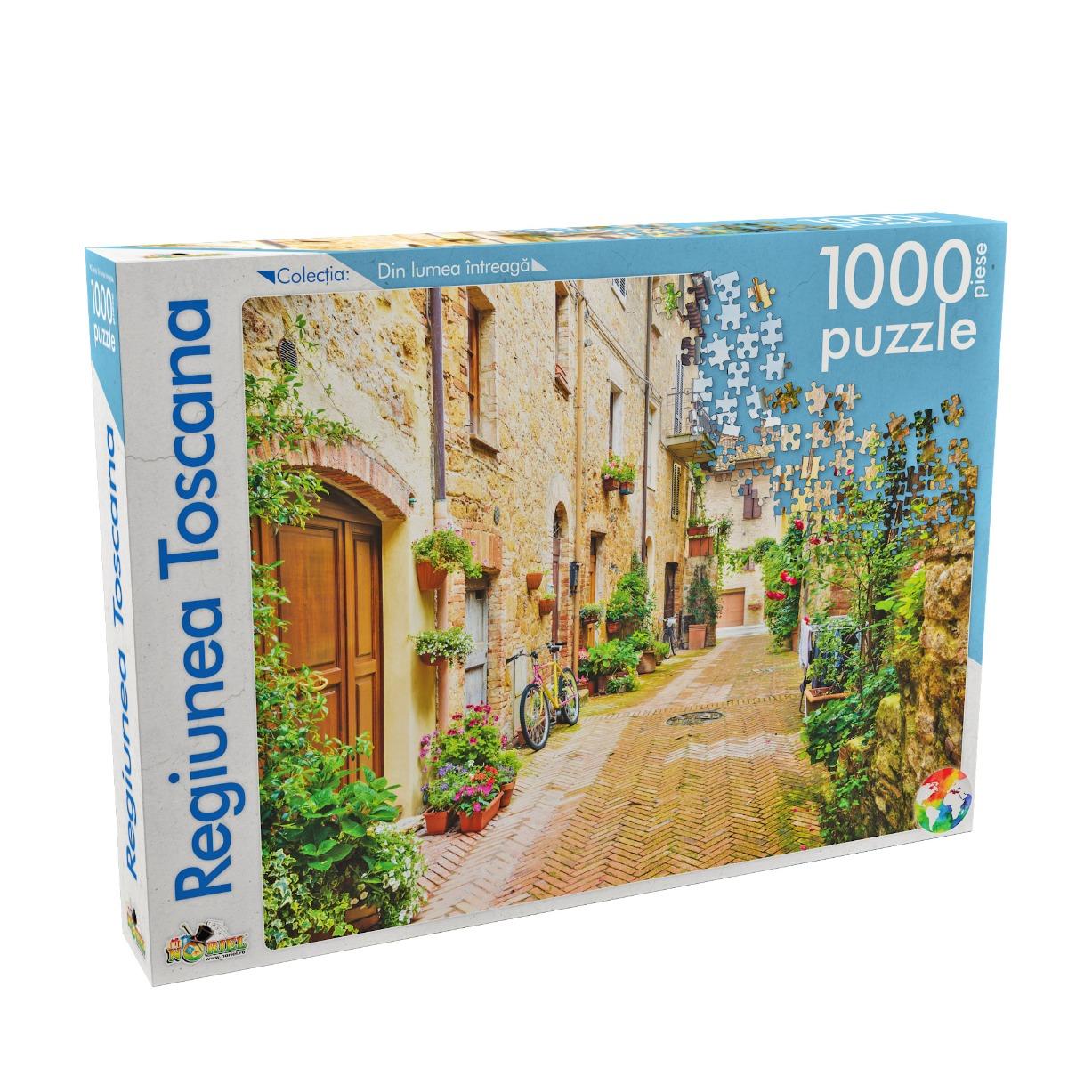 puzzle noriel din lumea intreaga - regiunea toscana (1000 piese)
