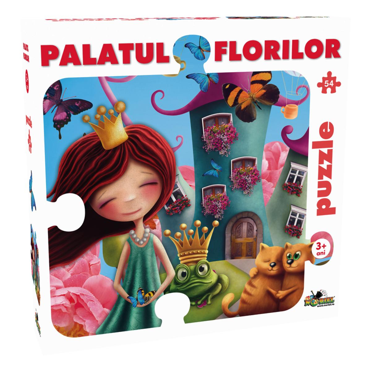 puzzle noriel - palatul florilor (54 piese)