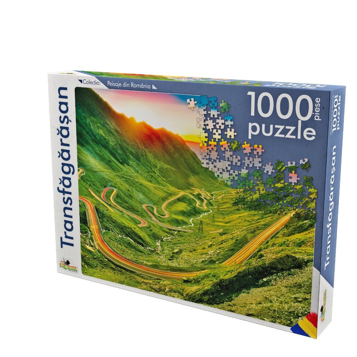 puzzle noriel peisaje din romania - transfagarasan (1000 piese)