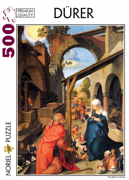 puzzle noriel pictura clasica - durer, nasterea lui iisus, 500 piese