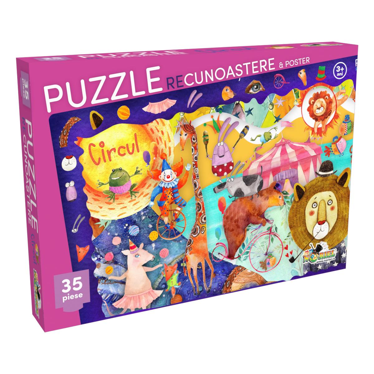puzzle noriel - recunoastere circul (35 piese)