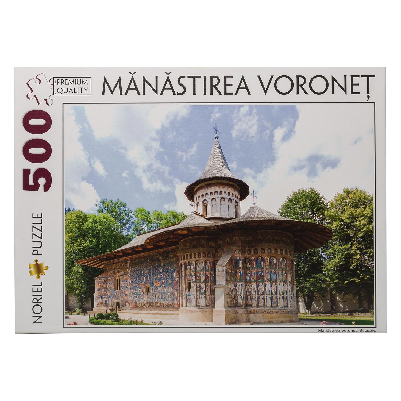puzzle noriel romania turistica - manastirea voronet, 500 piese