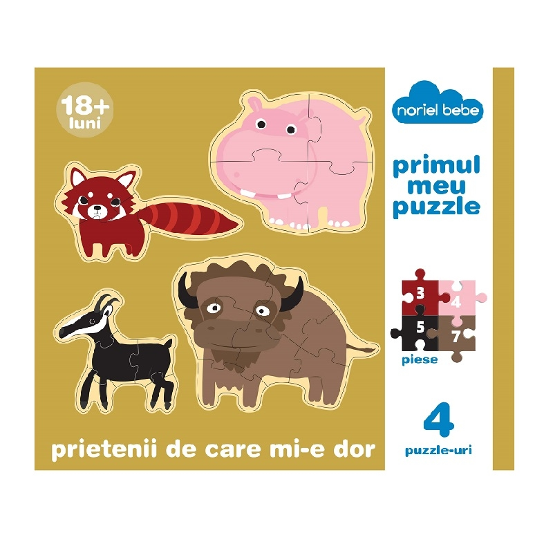 puzzle premium noriel bebe - prietenii de care mi-e dor