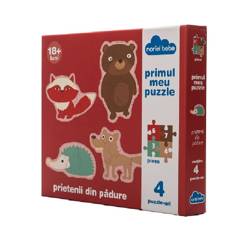 puzzle premium noriel bebe - prietenii mei din padure