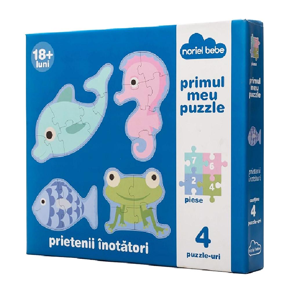puzzle premium noriel bebe - prietenii mei inotatori