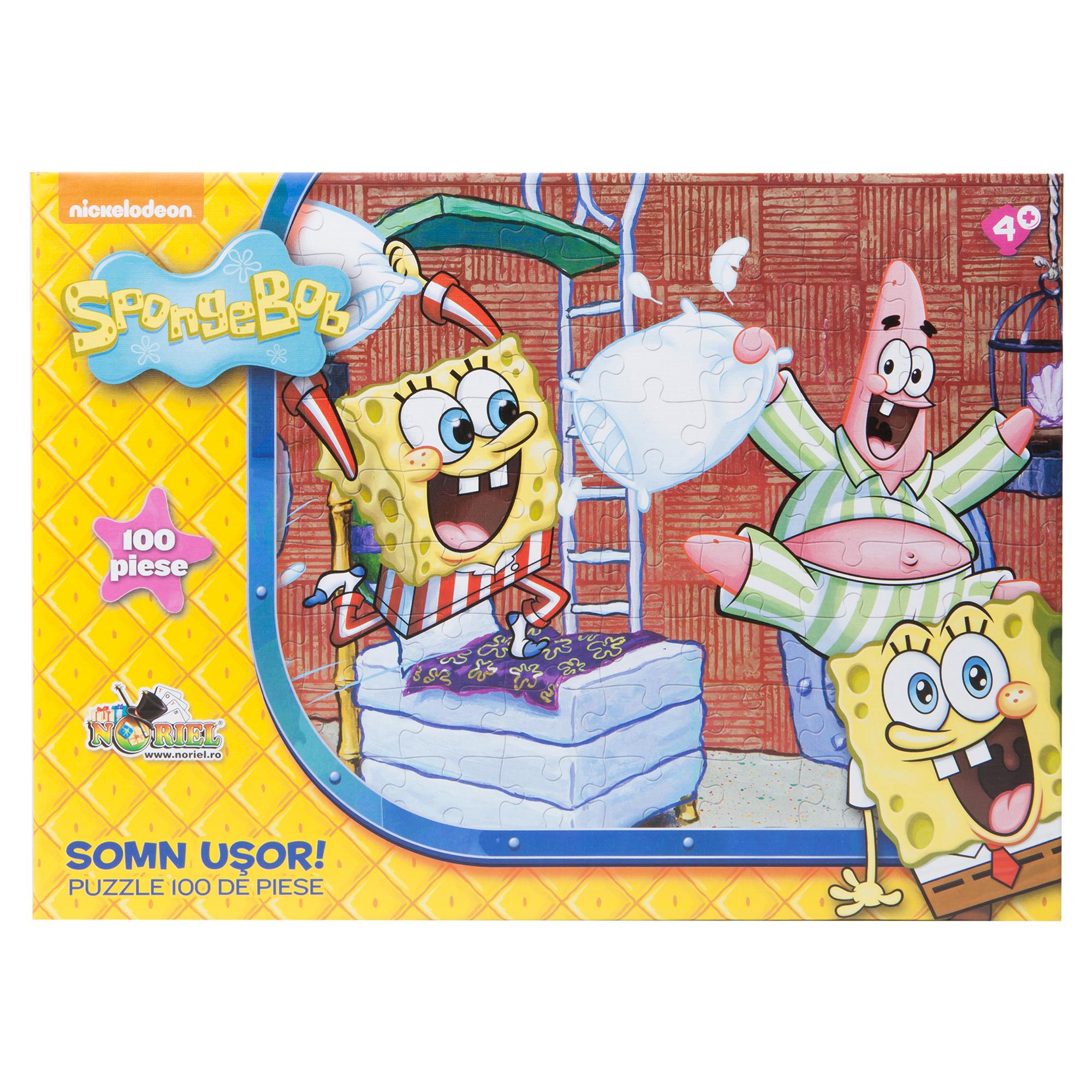 puzzle spongebob - somn usor! 100 piese