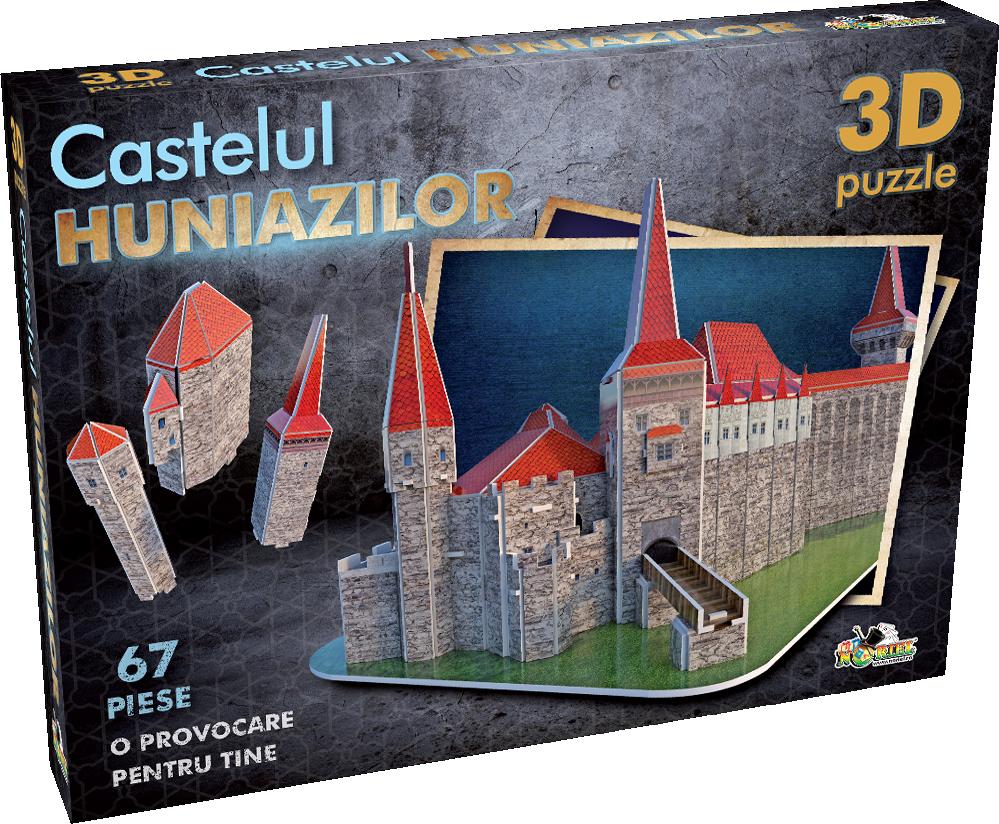 Puzzle 3D - Castelul Huniazilor