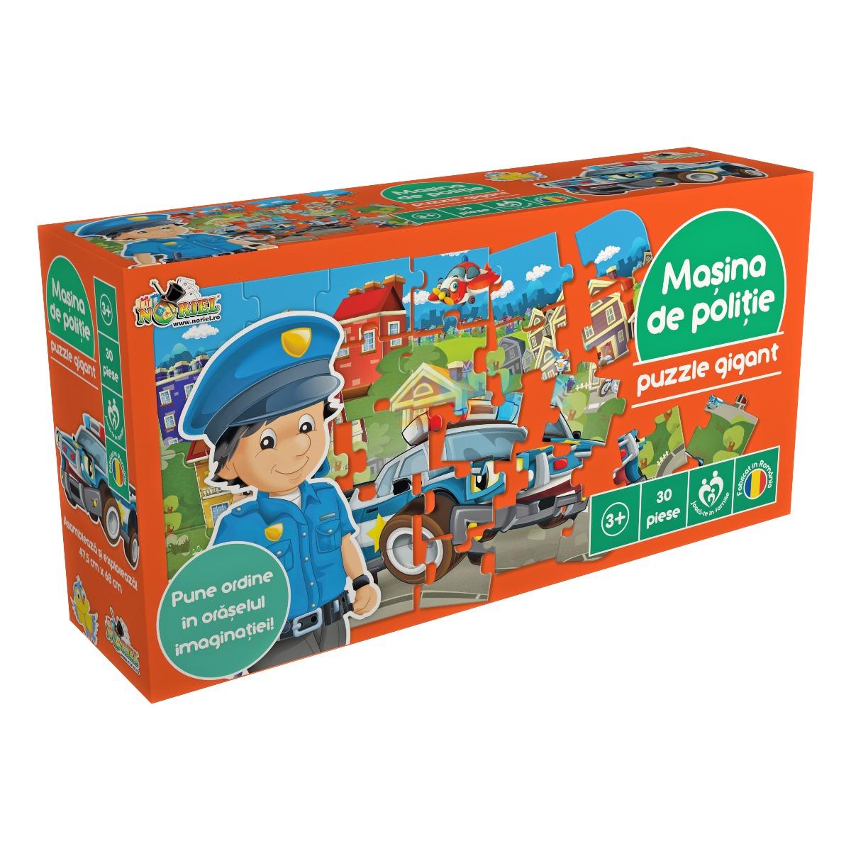 Puzzle Noriel - Masina de politie