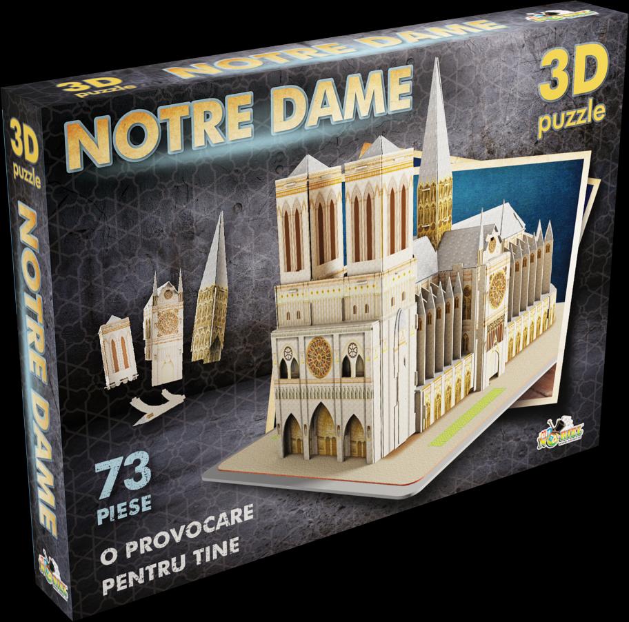 puzzle noriel 3d - notre dame ii