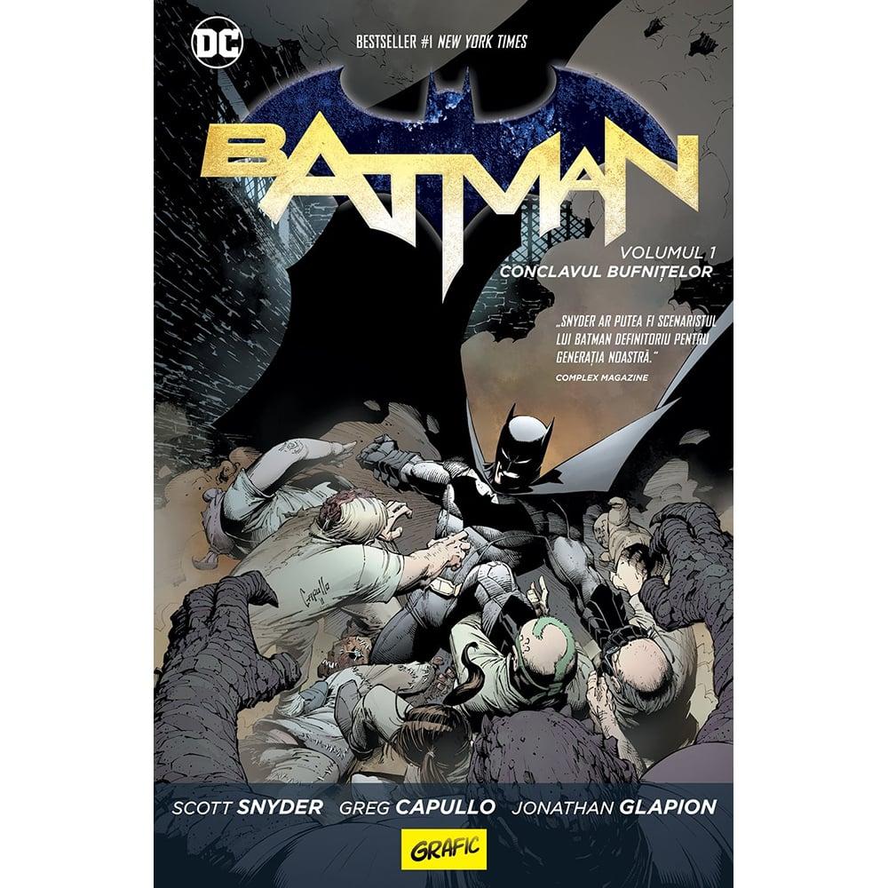 Carte Editura Arthur, Batman. Conclavul bufnitelor, Scott Snyder
