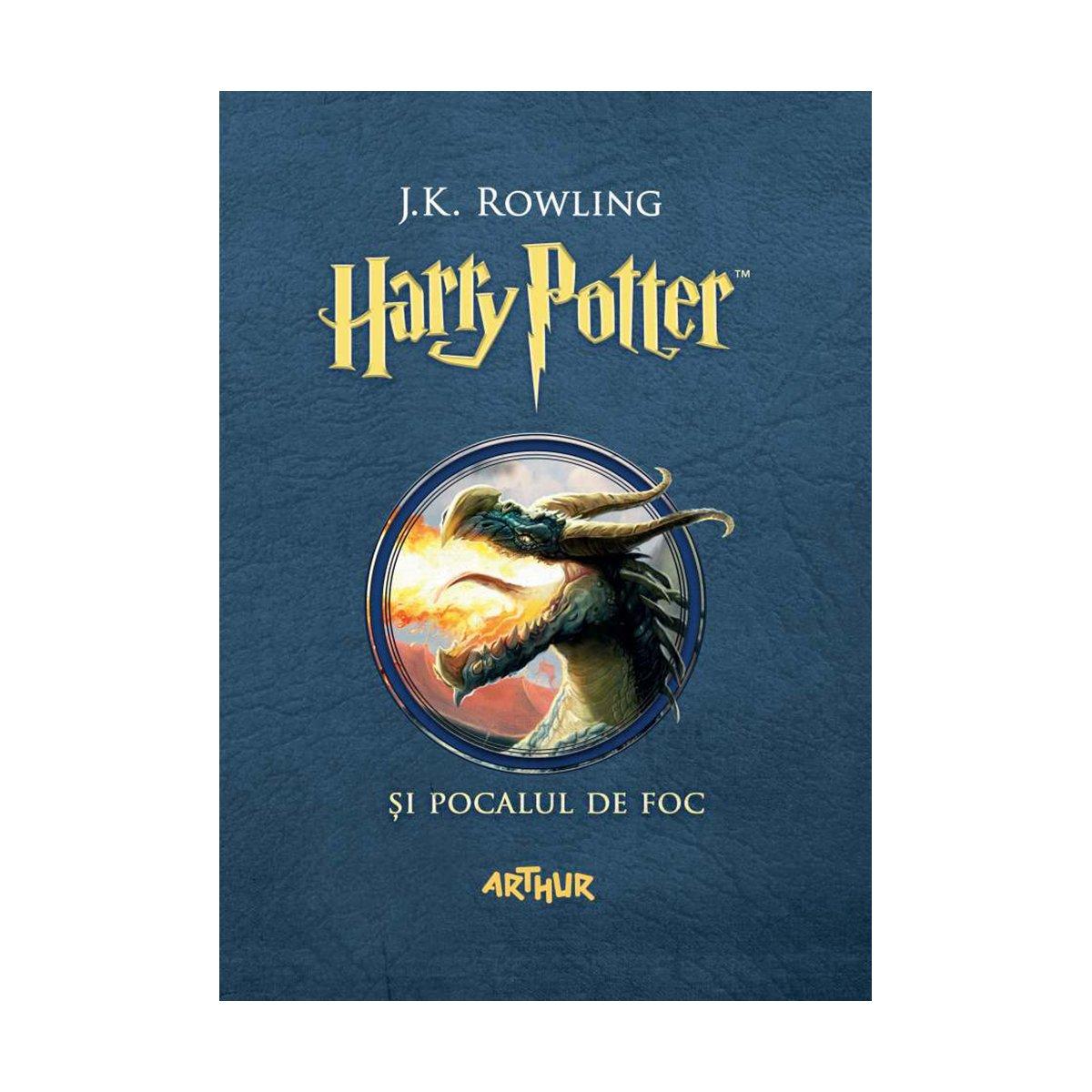 Carte Editura Arthur, Harry Potter si Pocalul de Foc, J.K.Rowling