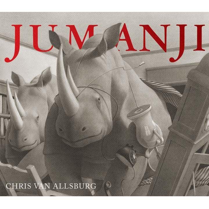 Carte Jumanji, Chris Van Allsburg