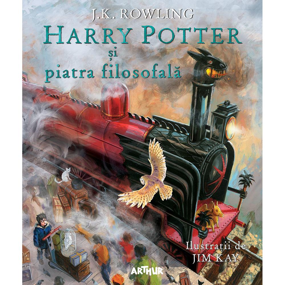 Carte Editura Arthur, Harry potter si piatra filozofala, J.K. Rowling