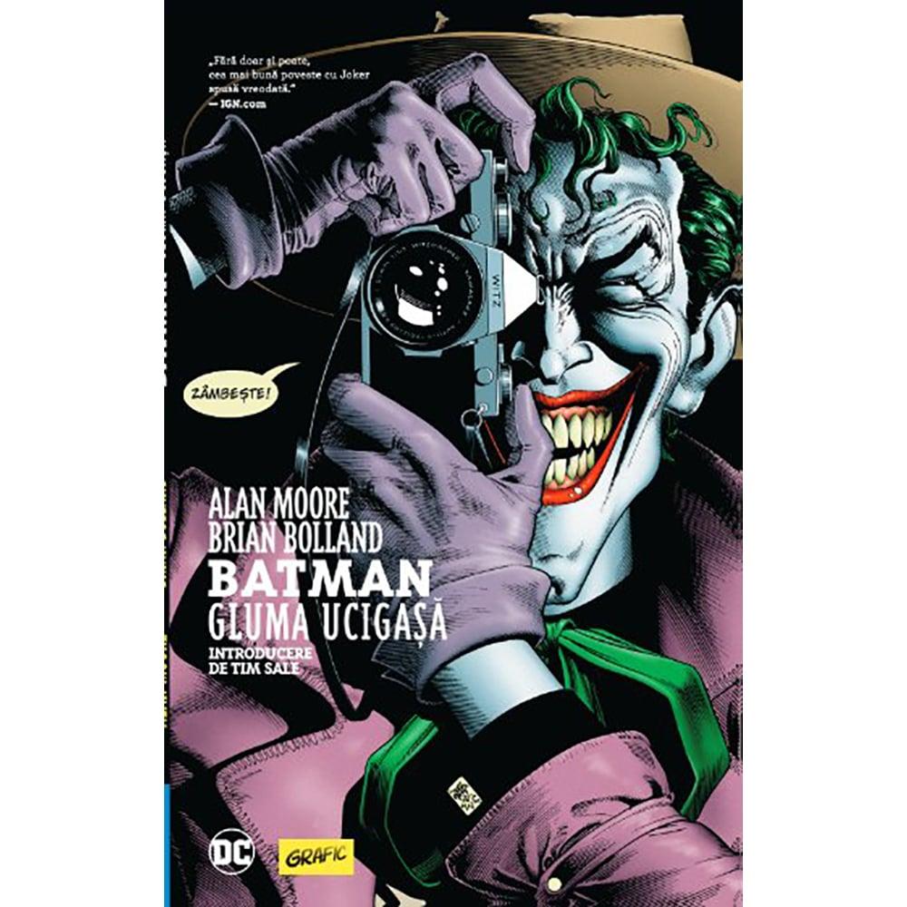 Carte Editura Arthur, Batman. Gluma ucigasa, Alan Moore, Brian Bolland