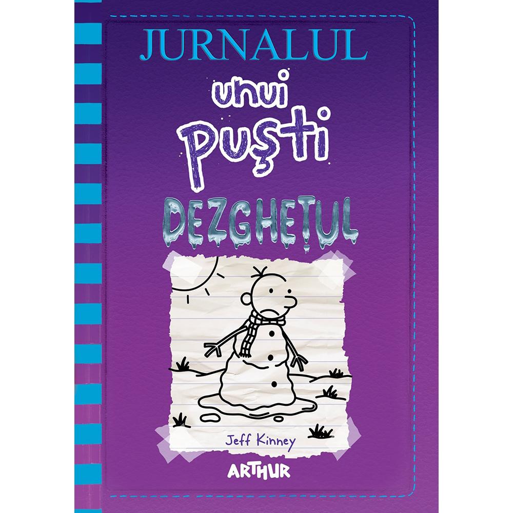 Carte Editura Arthur, Jurnalul unui pusti 13. Dezghetul, Jeff Kinney imagine 2021