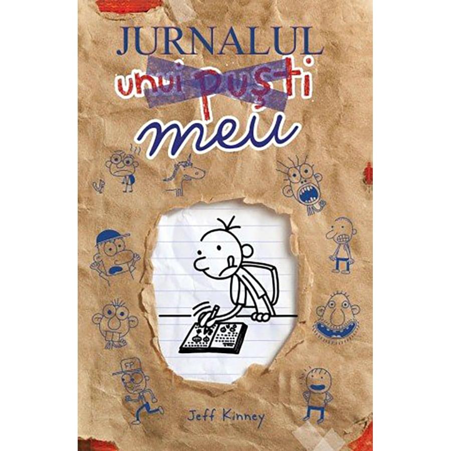 Carte Editura Arthur, Jurnalul unui pusti. Jurnalul meu, editie noua