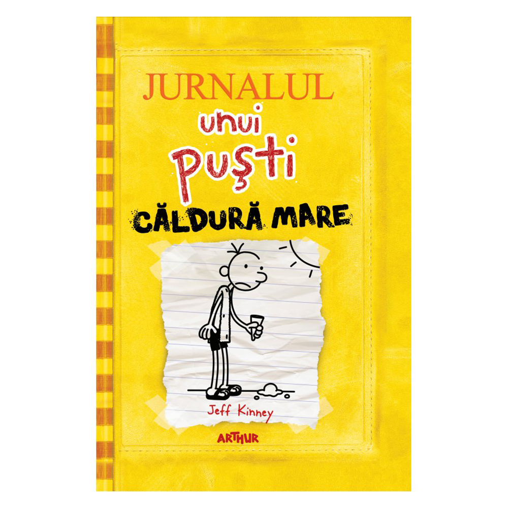 Carte Editura Arthur, Jurnalul unui pusti 4. Caldura mare, editie noua imagine 2021