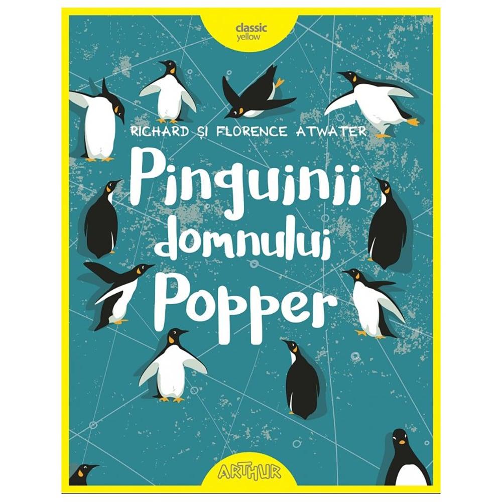 Carte Editura Arthur, Pinguinii domnului Popper, editie noua