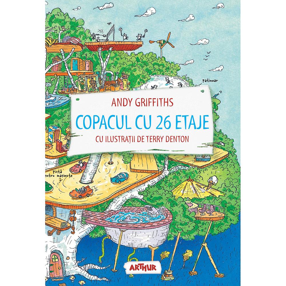 Carte Editura Arthur, Copacul cu 26 etaje, Andy Griffiths, editie noua