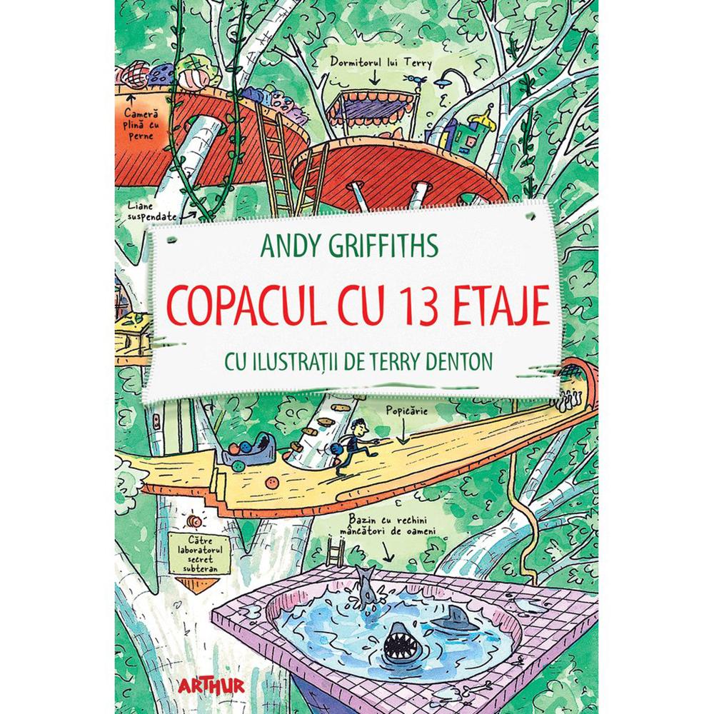 Carte Editura Arthur, Copacul cu 13 etaje, Andy Griffiths, editie noua