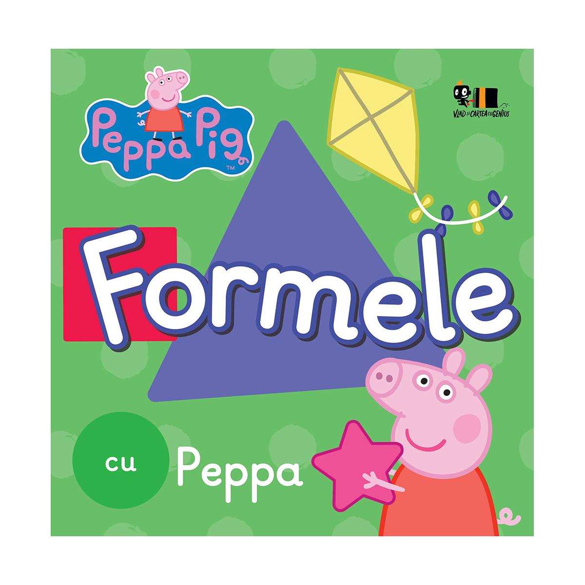 Carte Editura Arthur, Formele cu Peppa