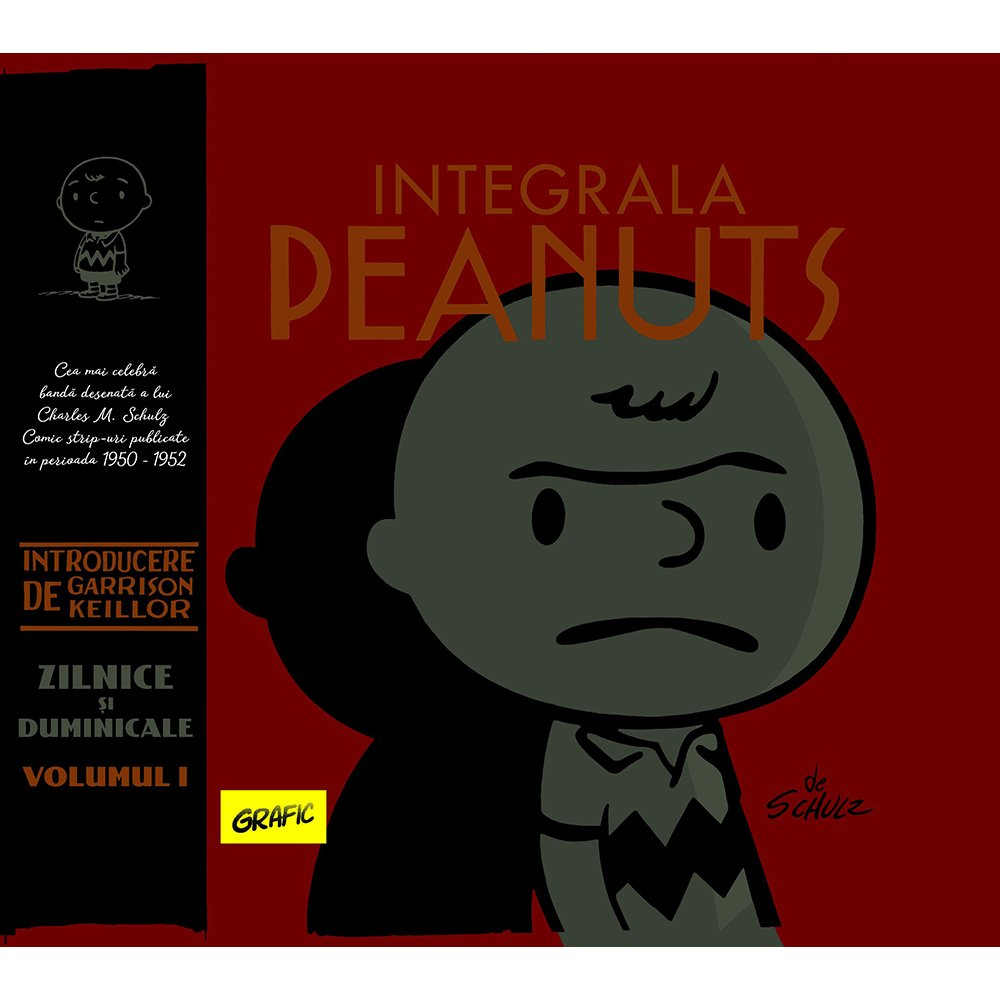 Carte Editura Arthur, Integrala Peanuts, Vol. I, Charles M. Schulz