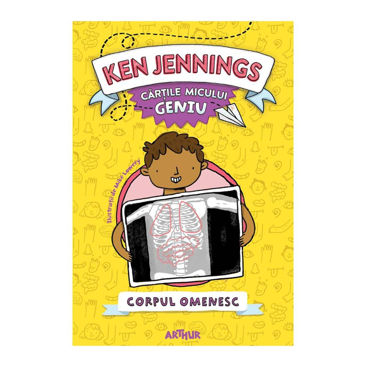 Carte Editura Arthur, Micul geniu, Corpul omenesc, Ken Jennings