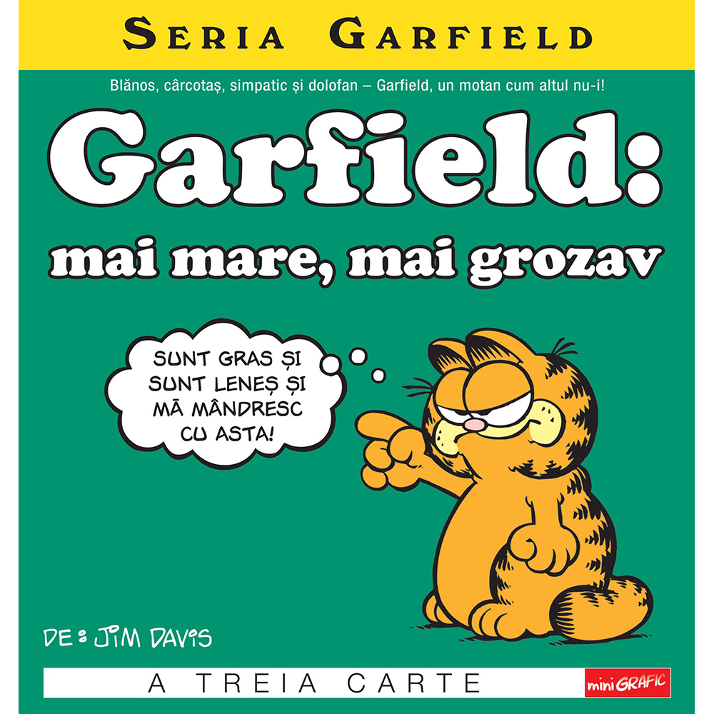 Carte Editura Arthur, Garfield: mai mare, mai grozav, Jim Davis