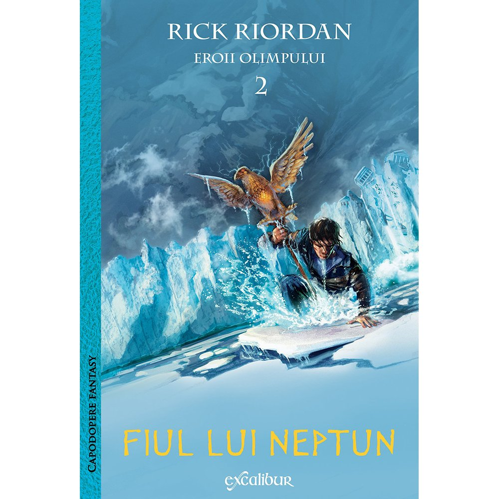 Carte Editura Arthur, Eroii olimpului 2. Fiul lui Neptun, Rick Riordan imagine 2021