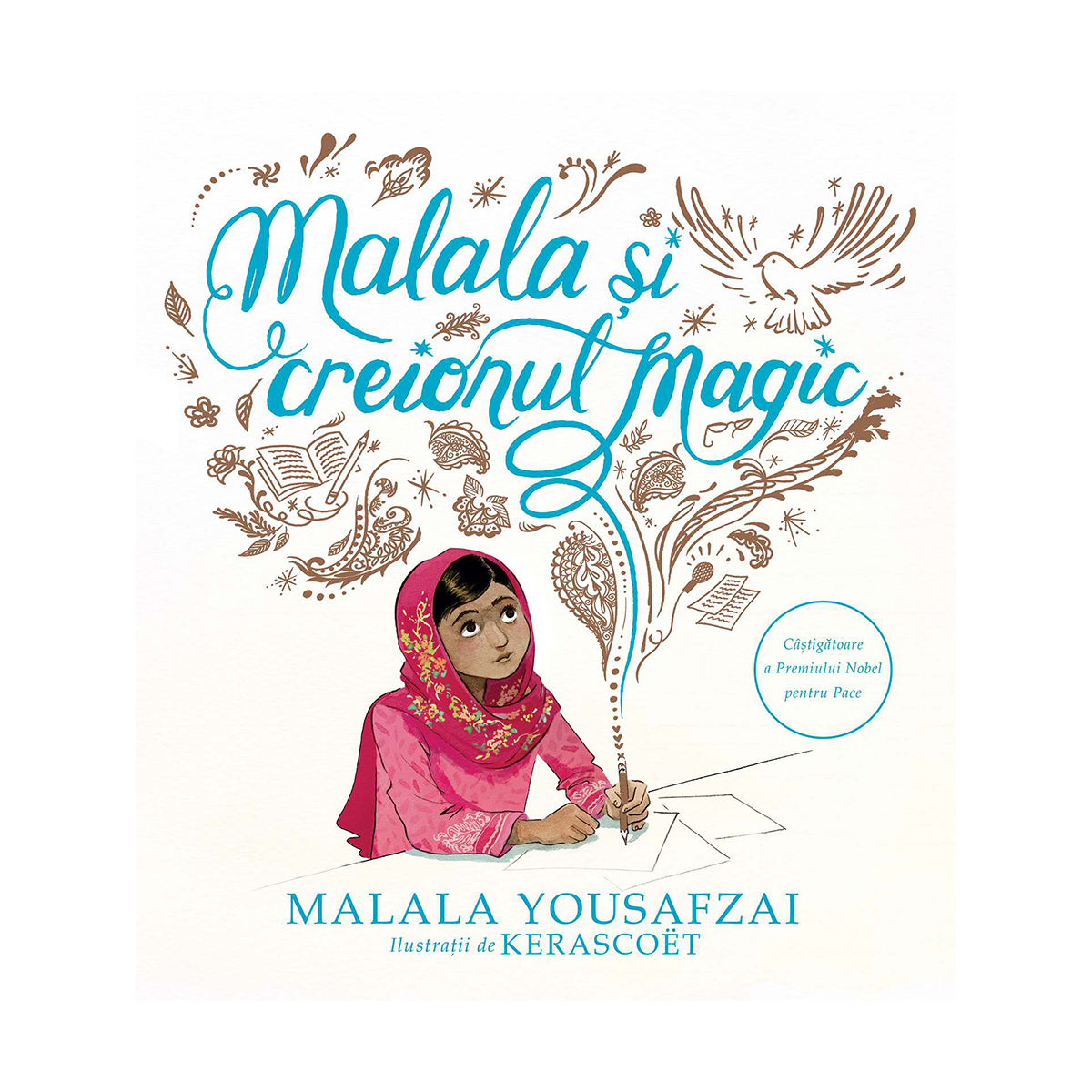 Carte Editura Arthur, Malala si creionul magic