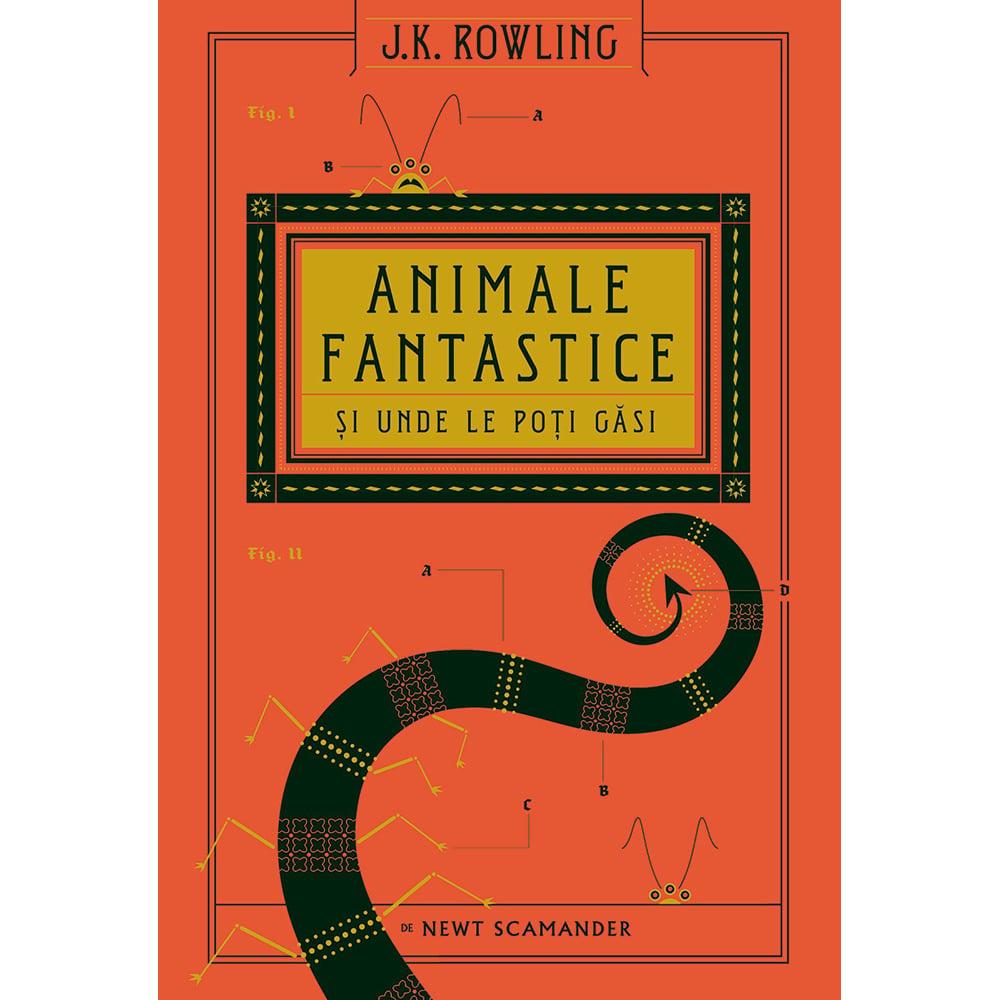 Carte Editura Arthur, Universul Harry Potter: Animale fantastice si unde le poti gasi, J.K. Rowling