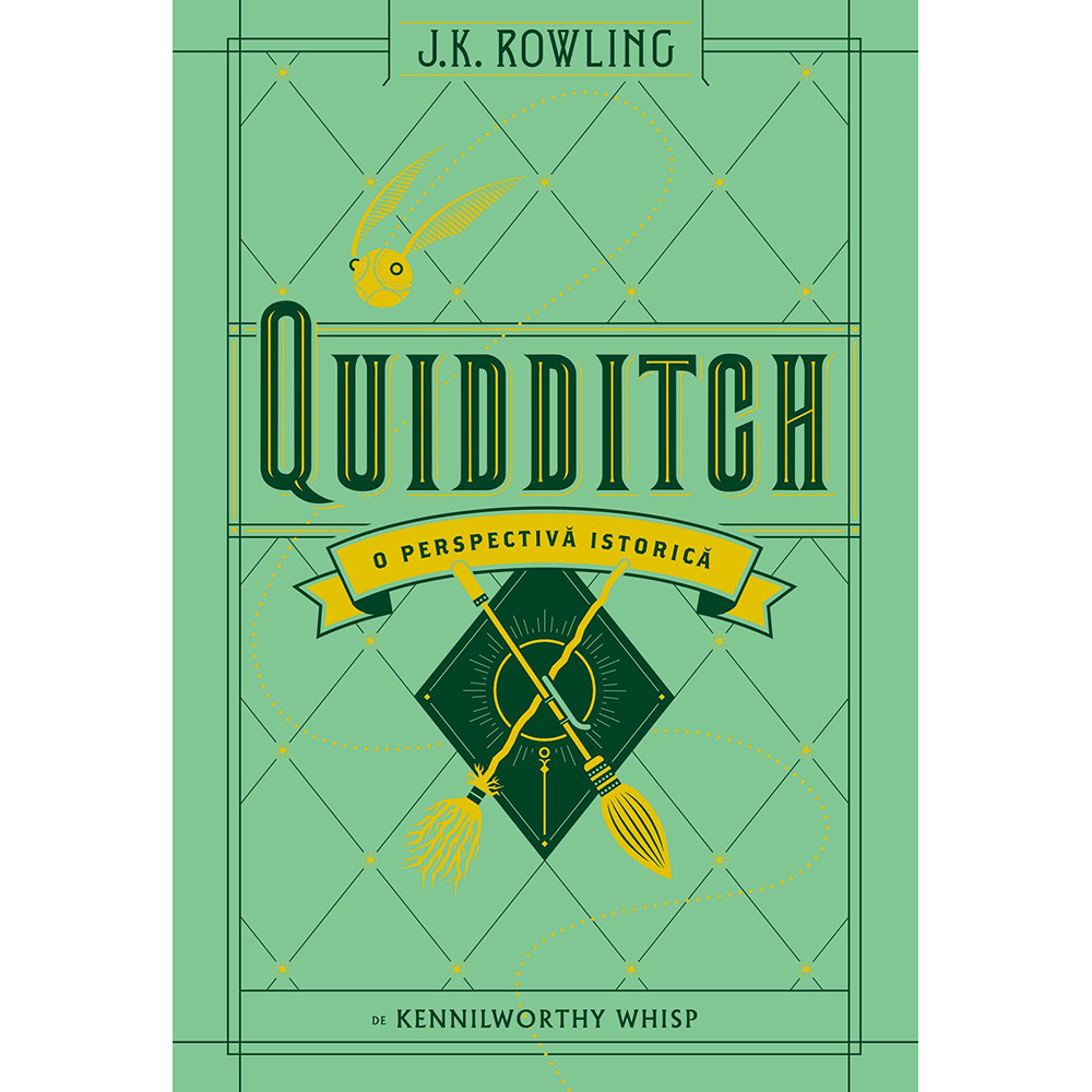 Carte Editura Arthur, Universul Harry Potter: Quidditch, o perspectiva istorica, J.K. Rowling, Kennilworthy Whisp imagine