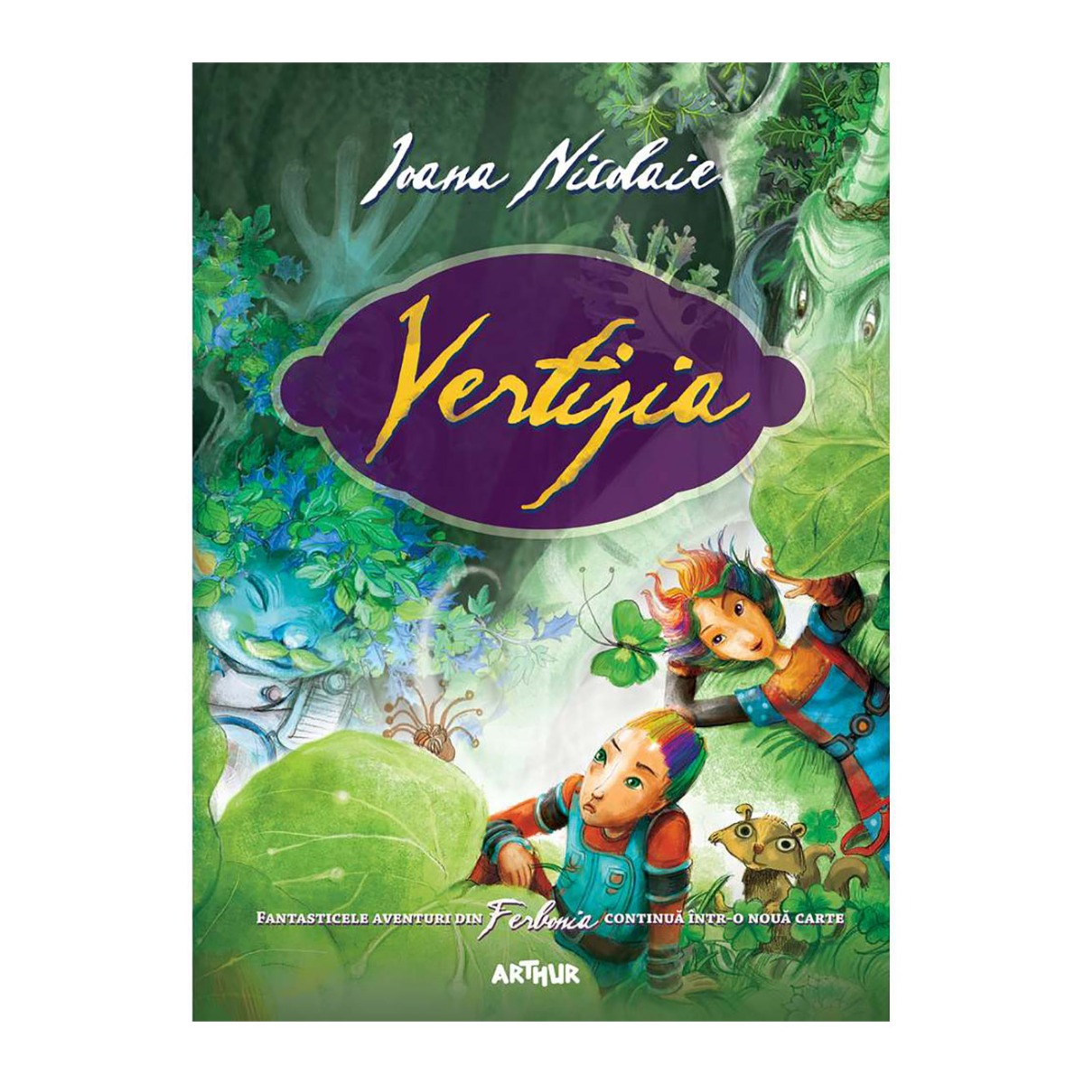 Carte Editura Arthur, Vertijia, Ioana Nicolaie