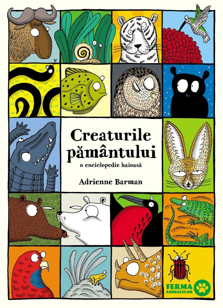 Creaturile pamantului. O enciclopedie haioasa, Adrienne Barman imagine