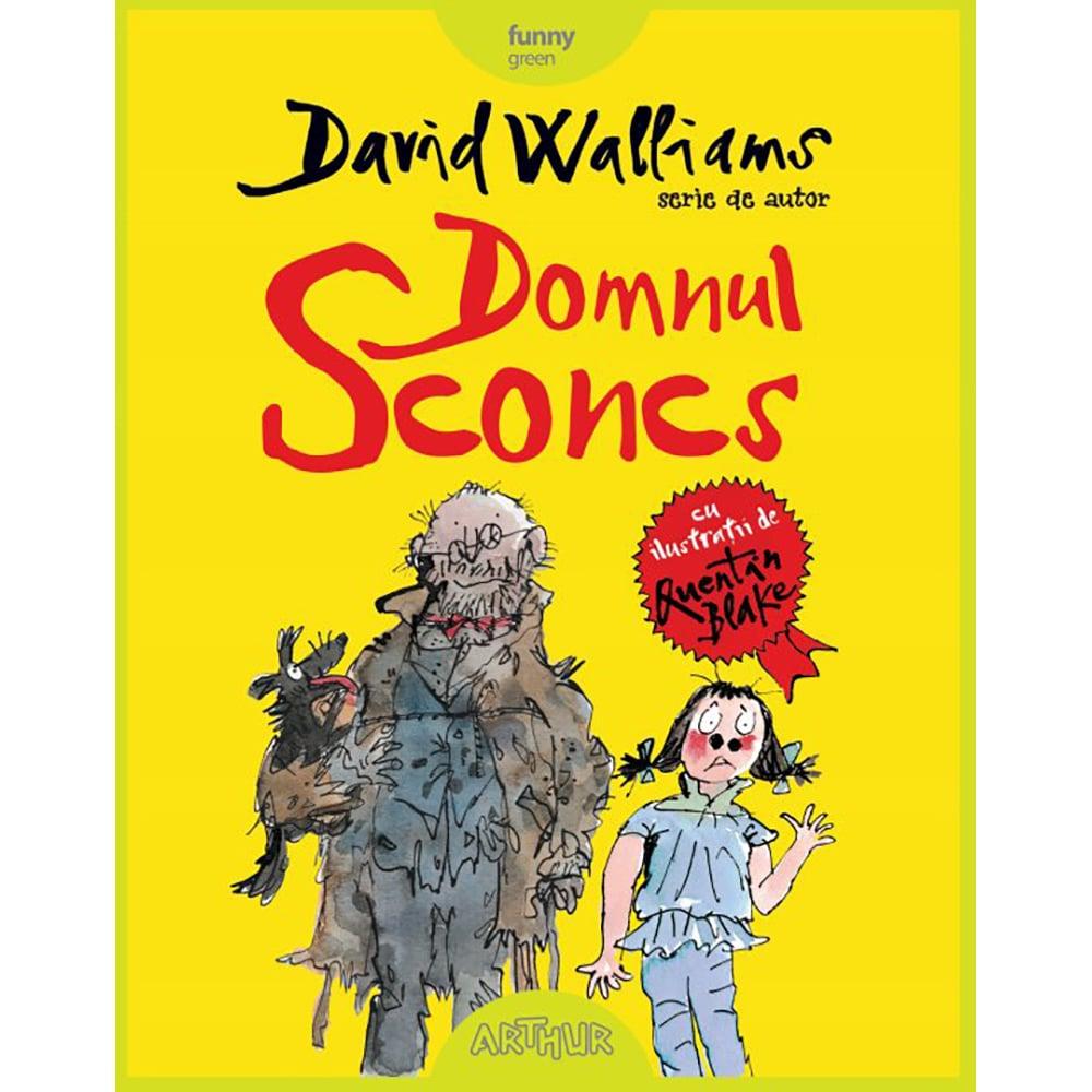 Carte Editura Arthur, Domnul Sconcs, David Walliams