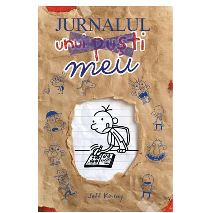 Carte Editura Arthur - Jurnalul meu. Jurnalul unui pusti, Jeff Kinney