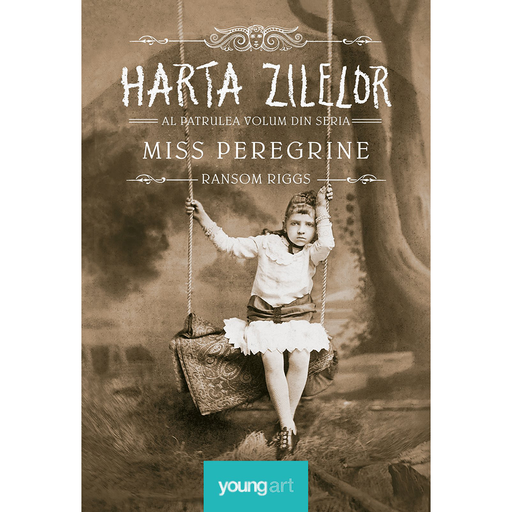 Carte Editura Arthur, Miss peregrine 4. Harta zilelor, Ransom Riggs imagine 2021