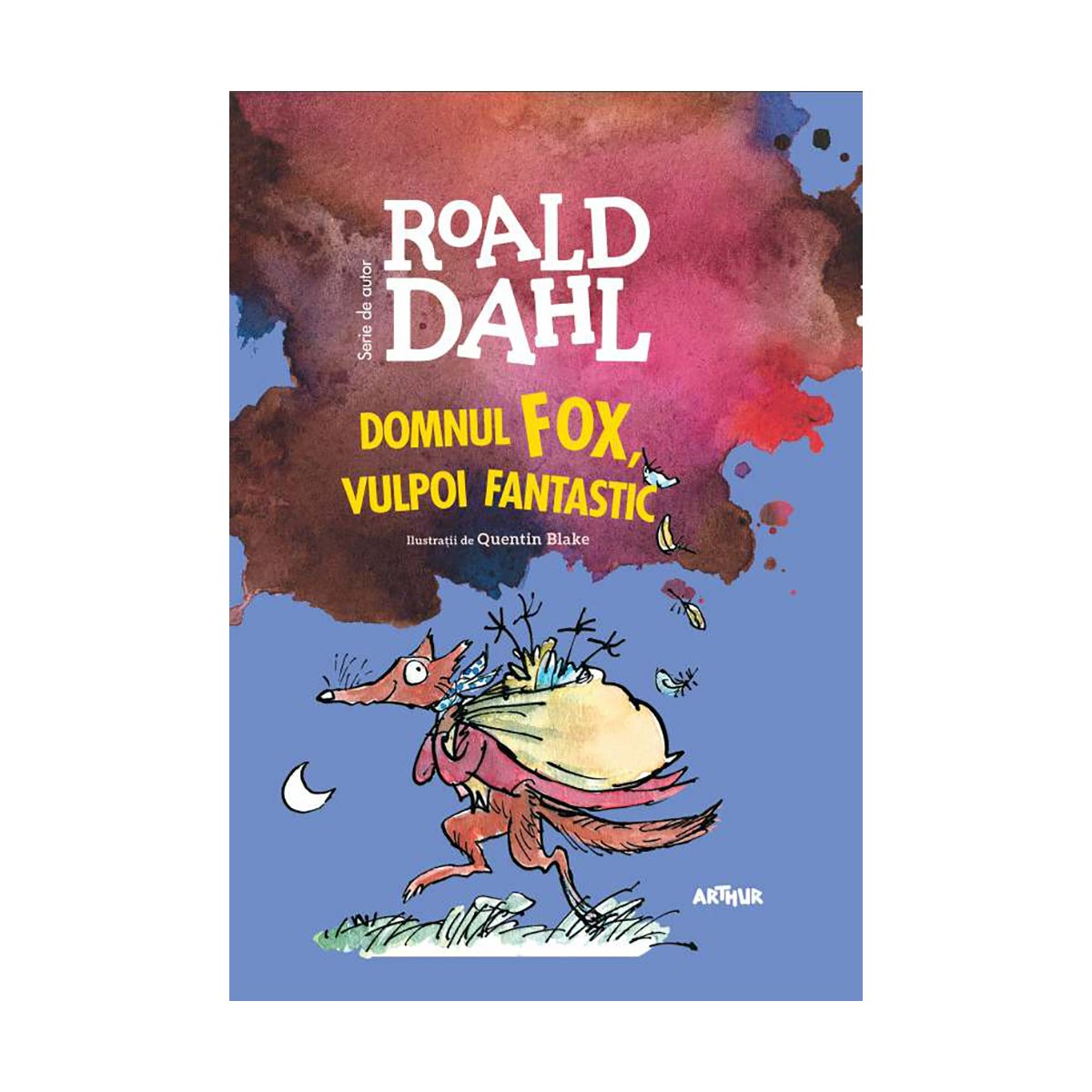 Carte Editura Arthur, Domul Fox, vulpoi fantastic, Roald Dahl