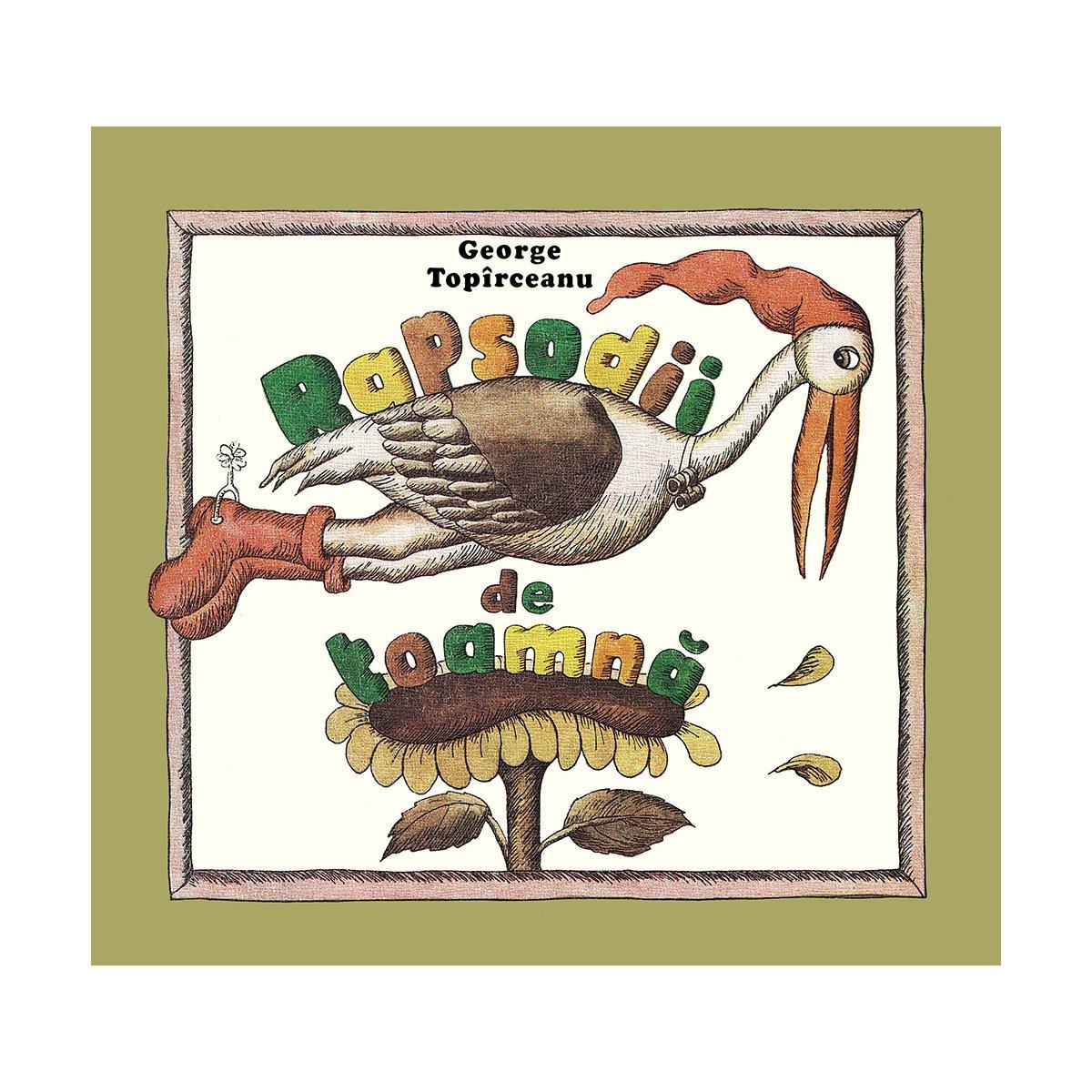 Carte Editura Arthur, Rapsodii de toamna, George Topirceanu