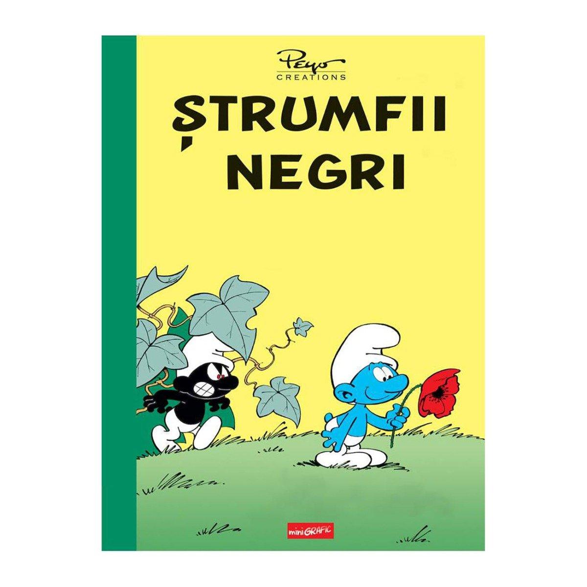 Carte Editura Arthur, Strumfii negri, Y. Deporte si Peyo imagine