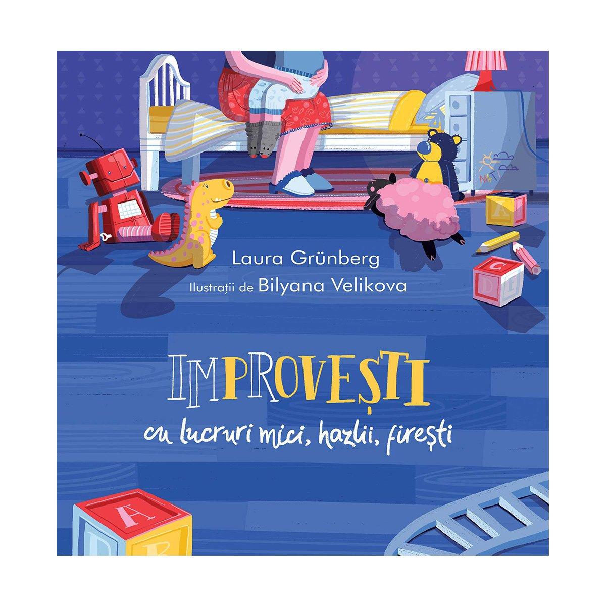 Carte Editura Arthur, Improvesti cu lucruri mici, hazlii, firesti