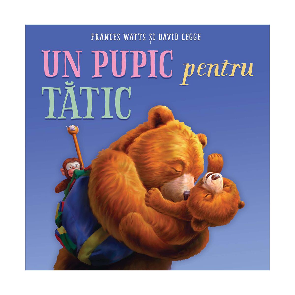 Carte Editura Arthur, Un pupic pentru tatic