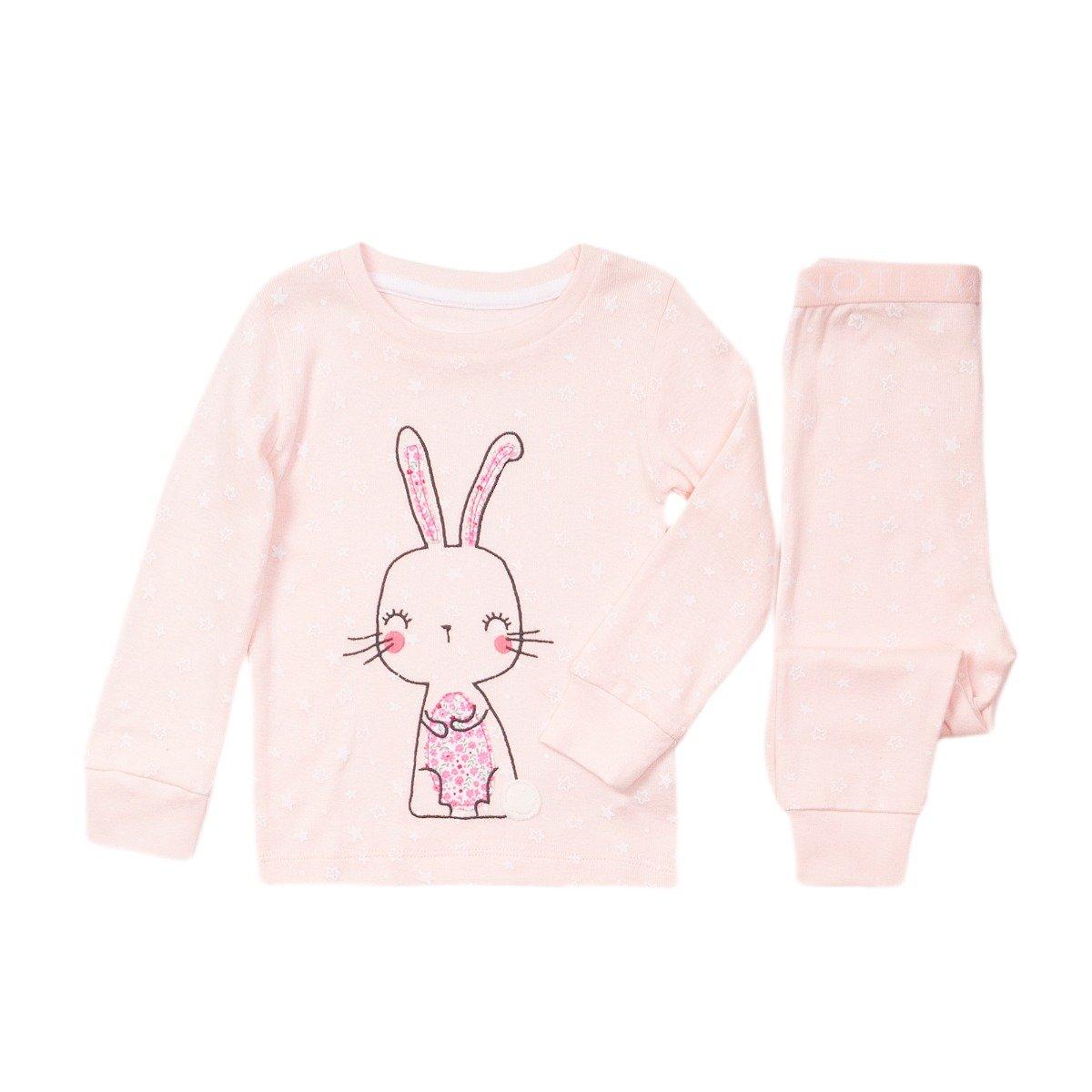 Pijama cu imprimeu Iepuras Minoti Pyja