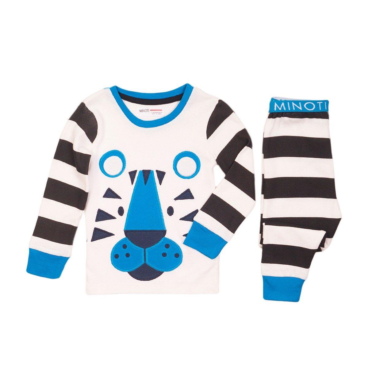 Pijama cu imprimeu Tiger Minoti Pyja