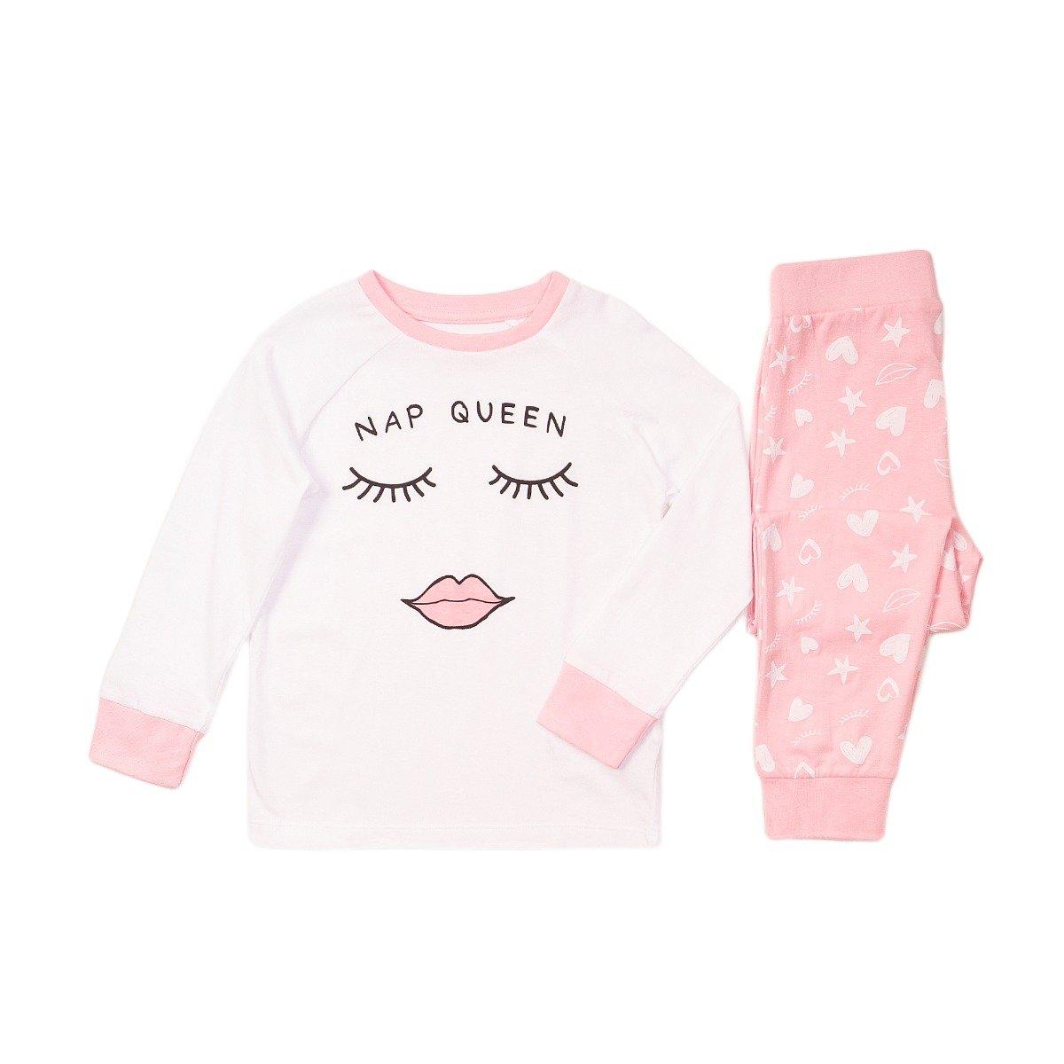 Pijama cu imprimeu Nap Queen Minoti Pyja